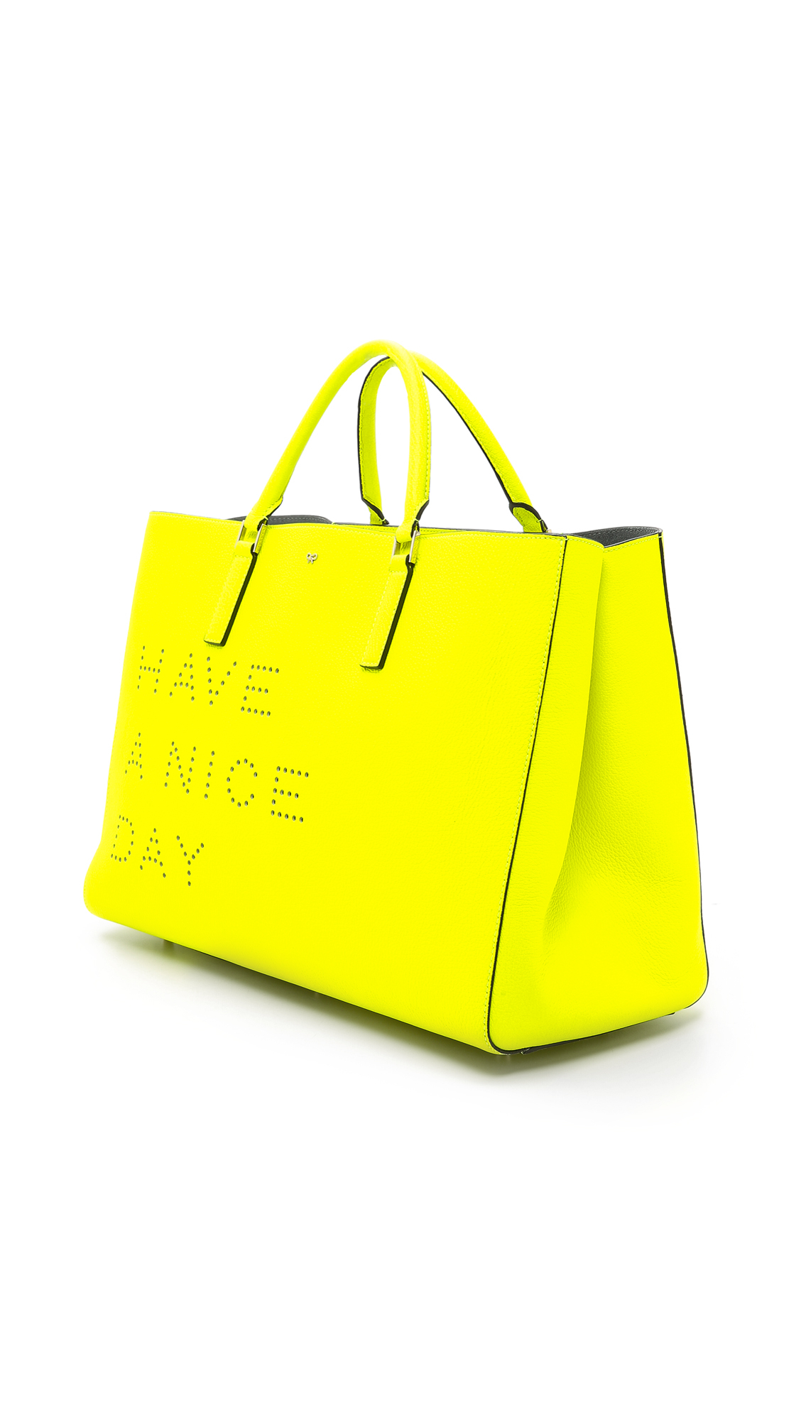 Lyst Anya Hindmarch Have A Nice Day Ebury Maxi Tote