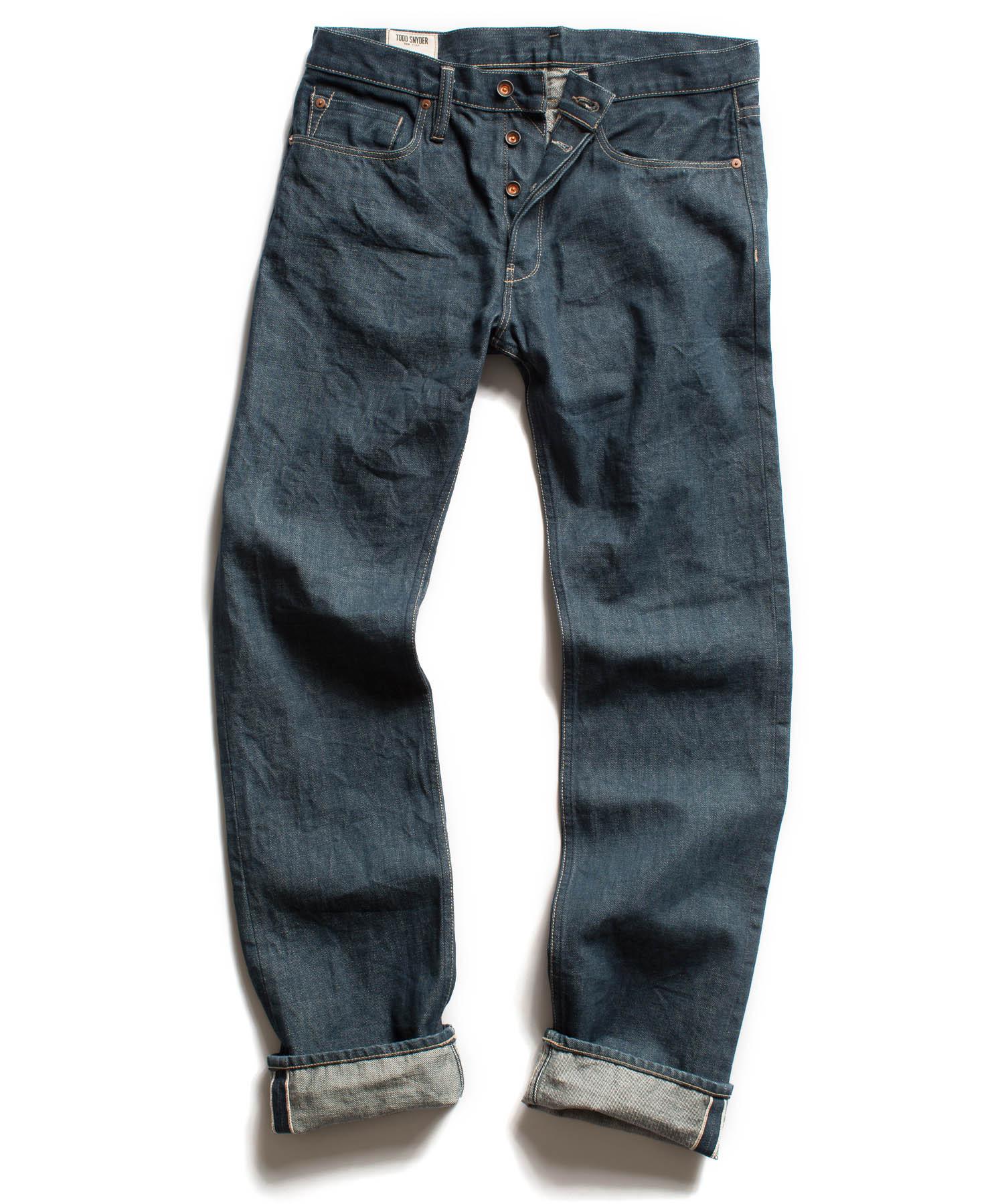 Mens Slim Fit Designer Jeans