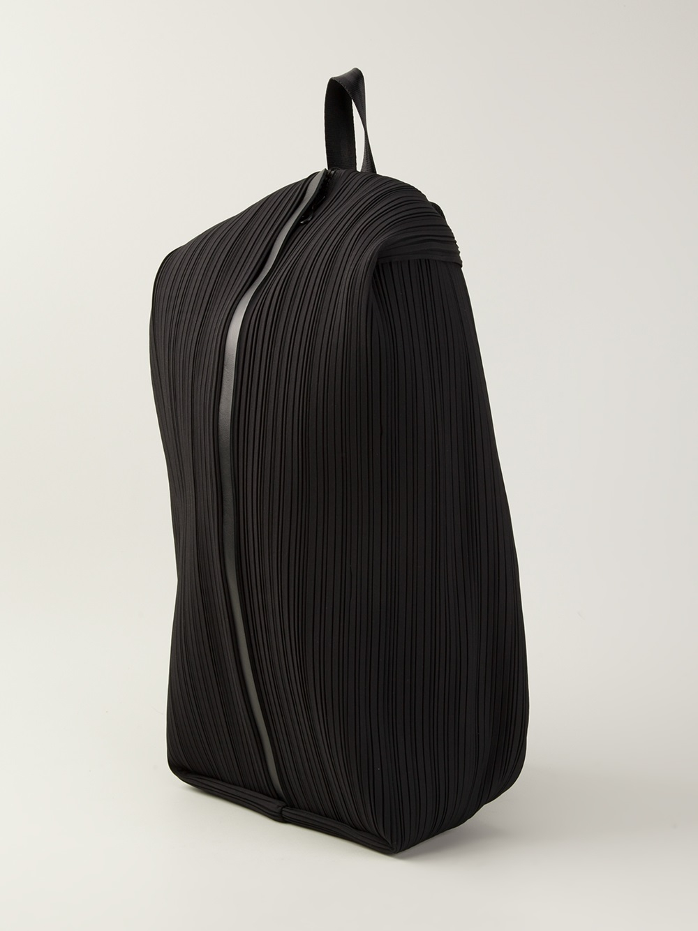 Lyst - Pleats Please Issey Miyake Pleated Backpack in Black eed958247e580