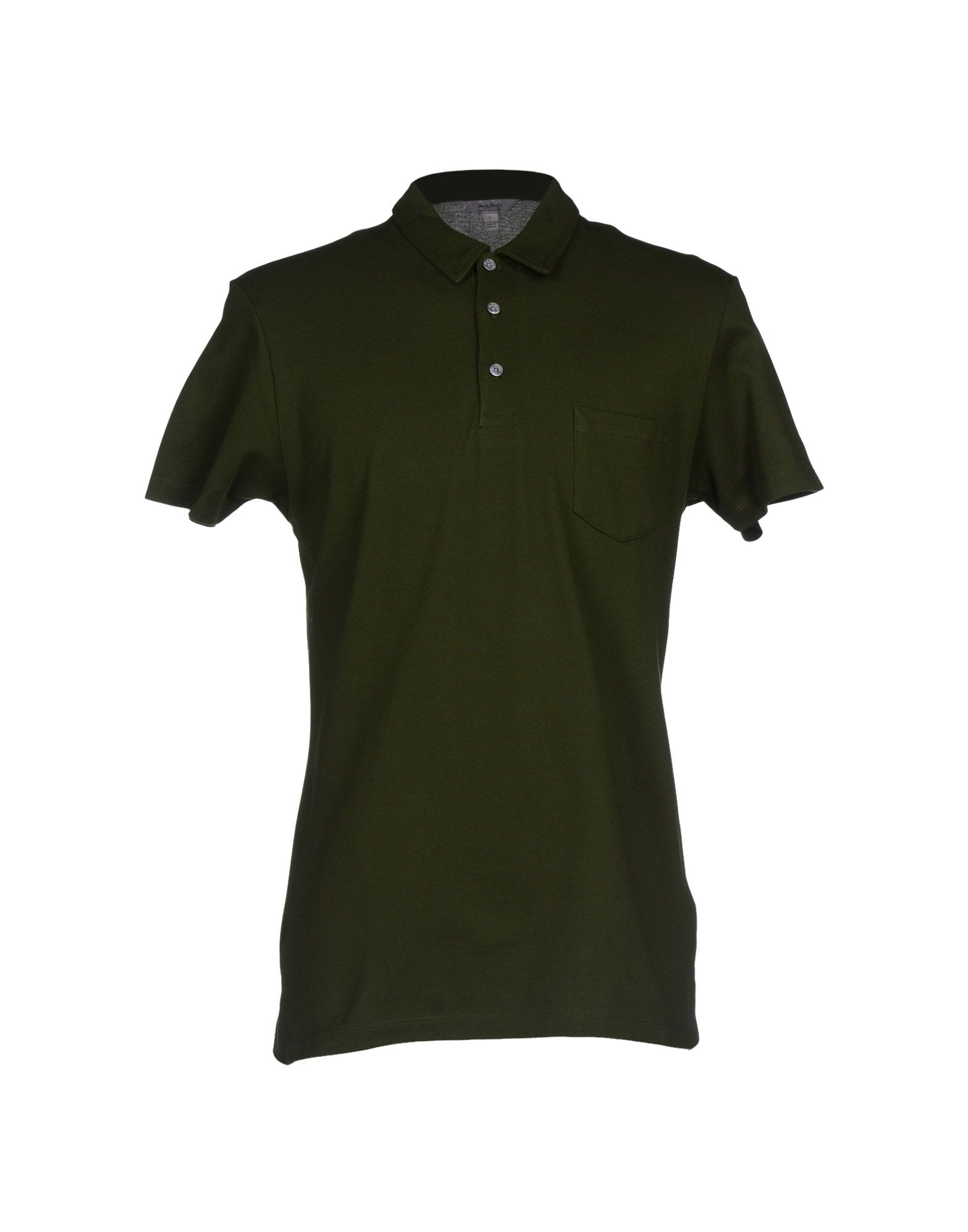Hardy Amies Polo Shirt In Green For Men Dark Green Lyst