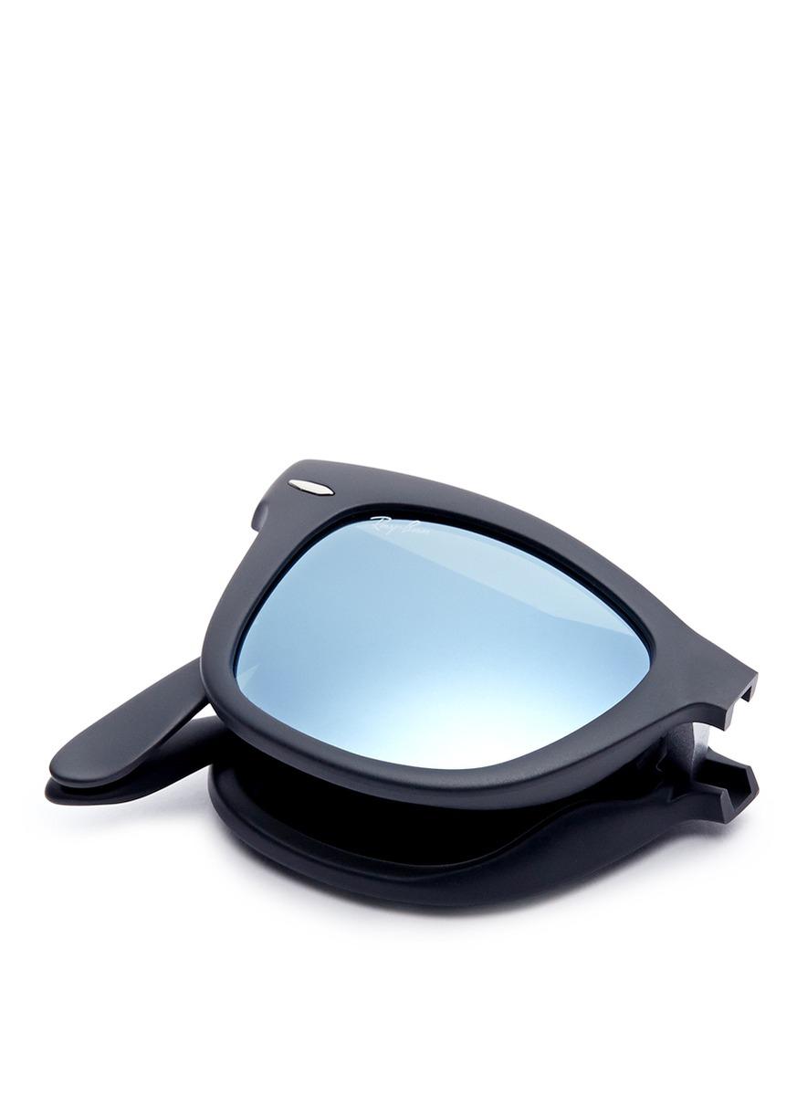 foldable ray bans wayfarers