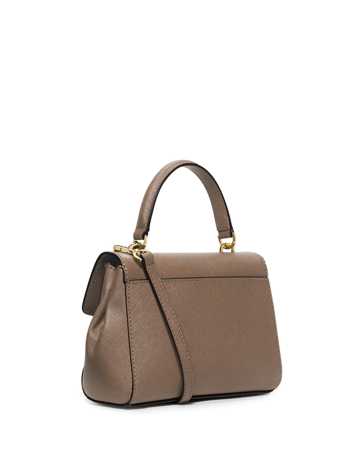 223e5fe1223f Lyst - MICHAEL Michael Kors Ava Extra-Small Cross-Body Bag in Brown