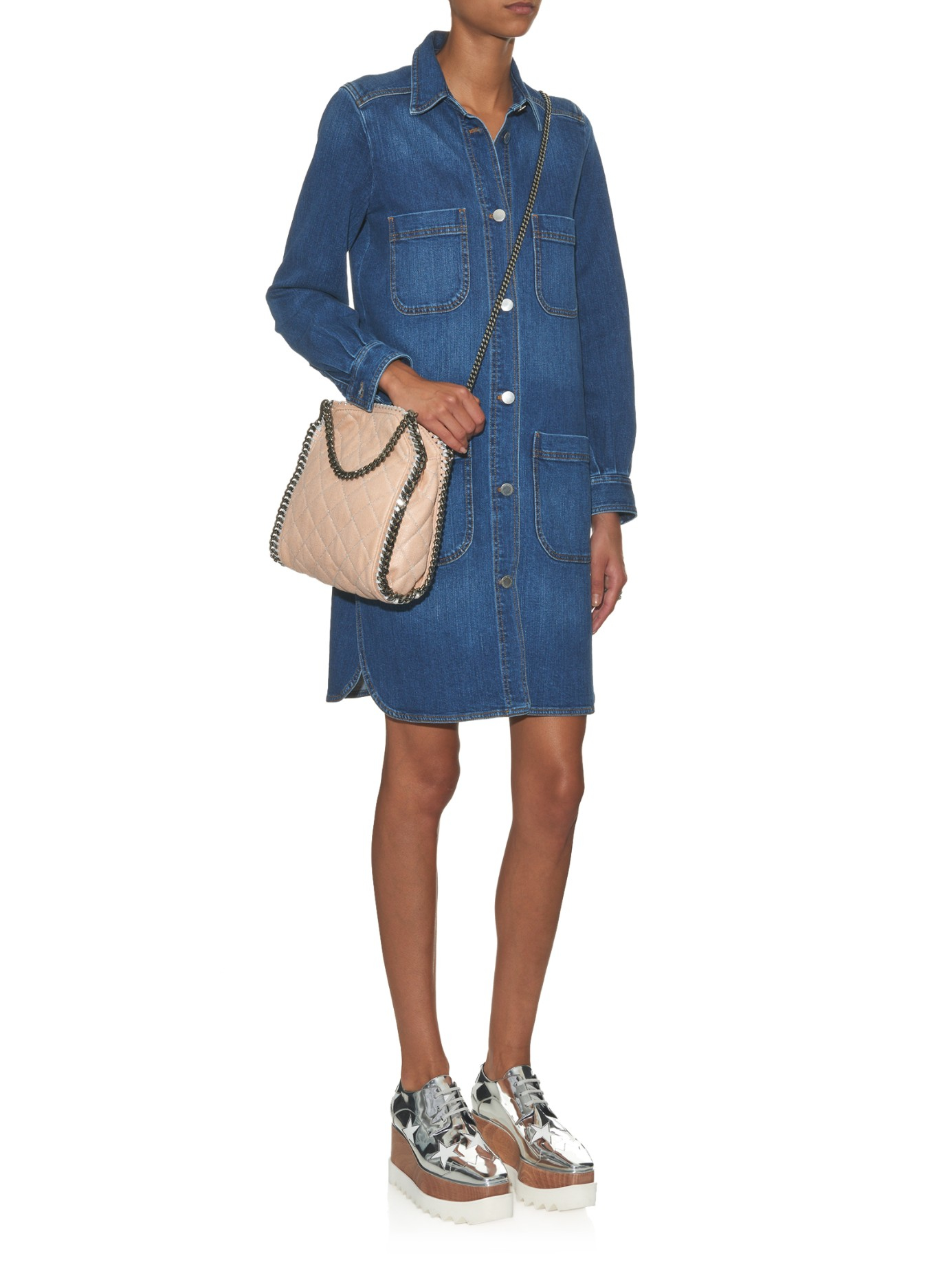 Womens Falabella Mini Crossbody Bag Stella McCartney vNGTca