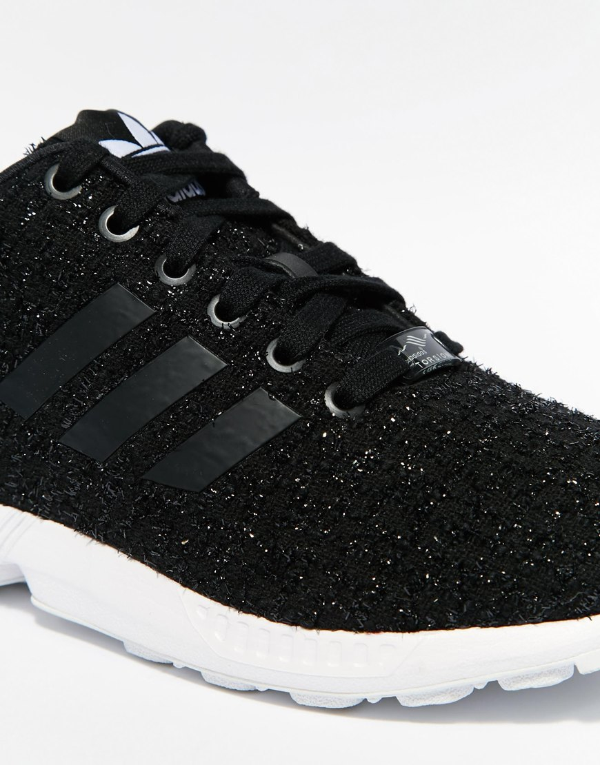the latest b5e4b abb83 sale adidas zx flux black and gold bottom 754b8 b78ac