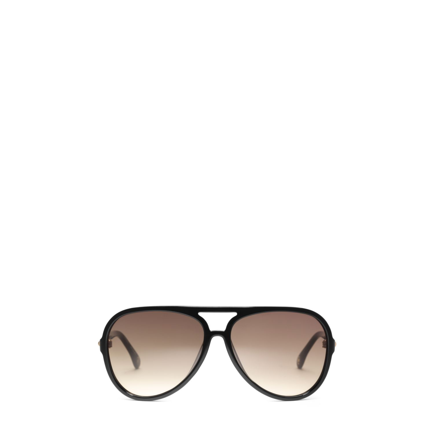 bd0bba47e0 Lyst - Michael Kors Brynn Tortoise Acetate Aviator Sunglasses in Black