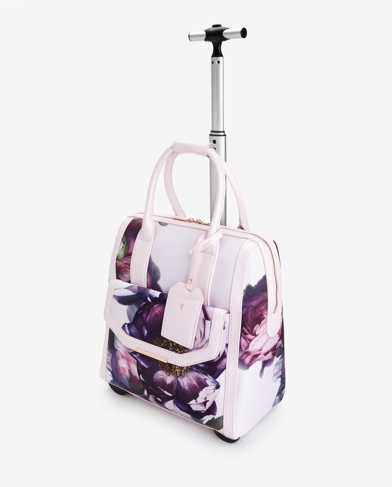 648969e7b7eb1 Ted Baker Sunlit Floral Travel Bag in Pink - Lyst