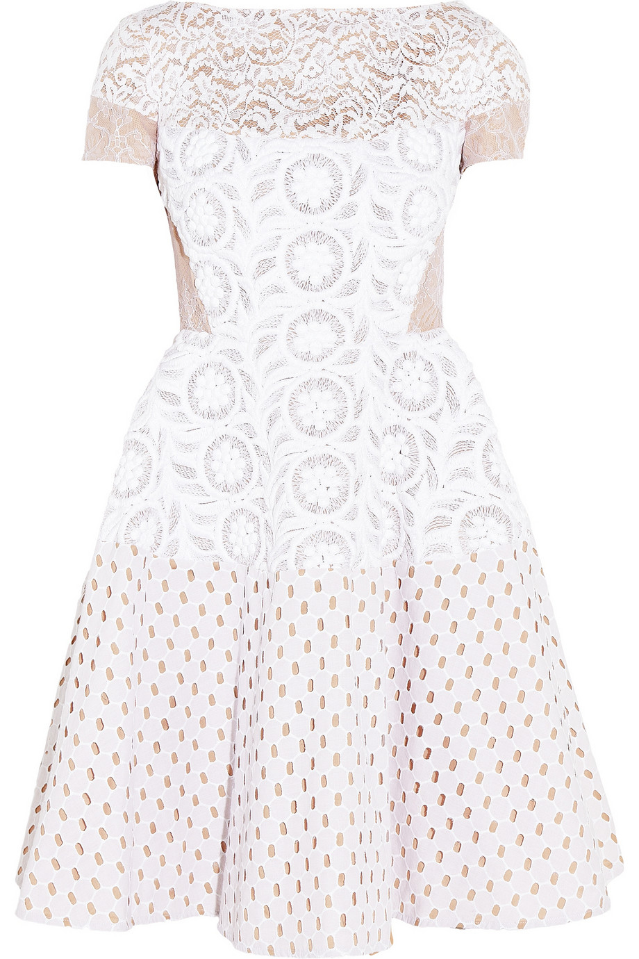 Lyst N 176 21 Annetta Lace Broderie Anglaise And Embroidered