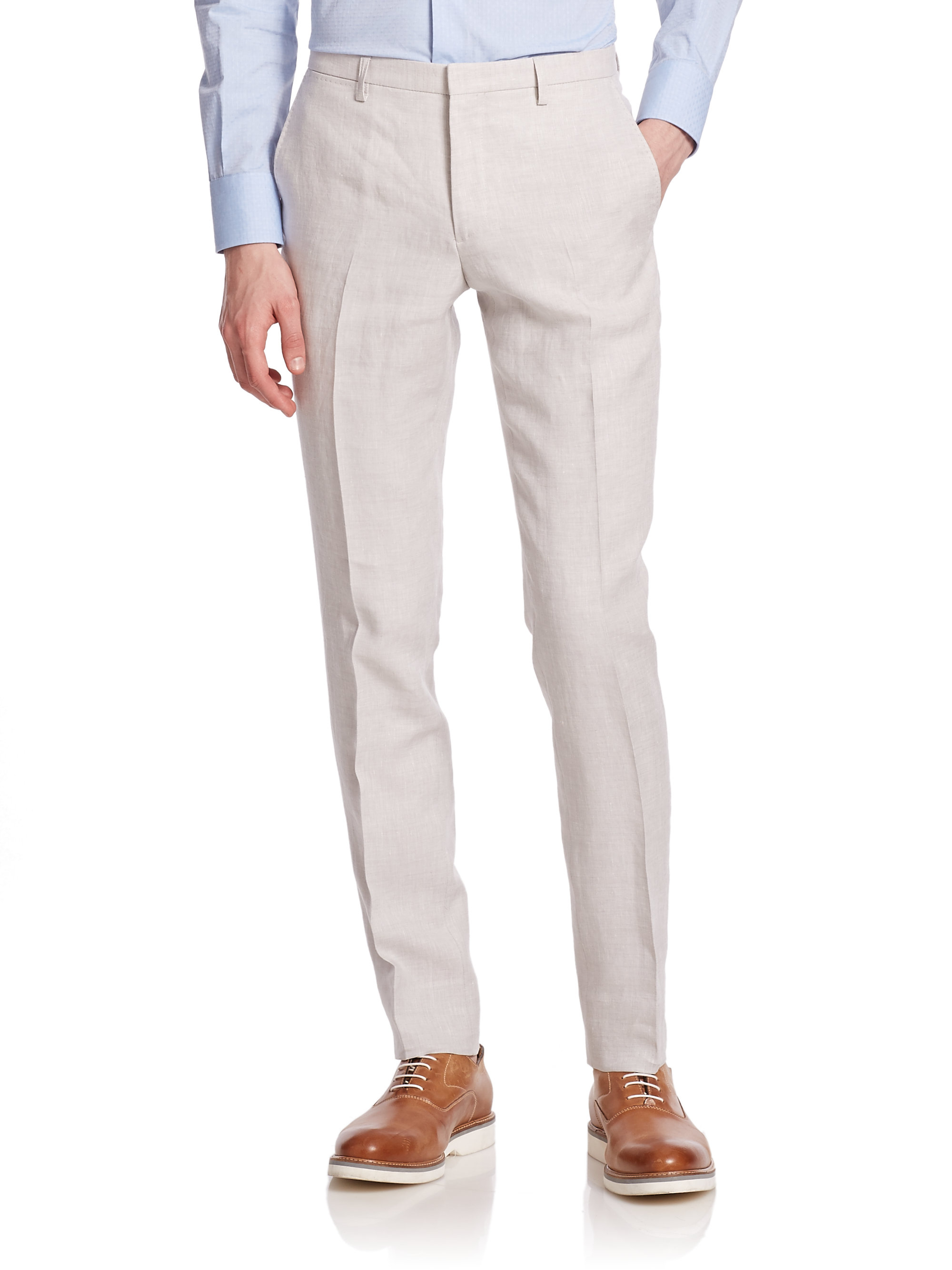 1b3422ba Light Gray Dress Pants Mens - raveitsafe