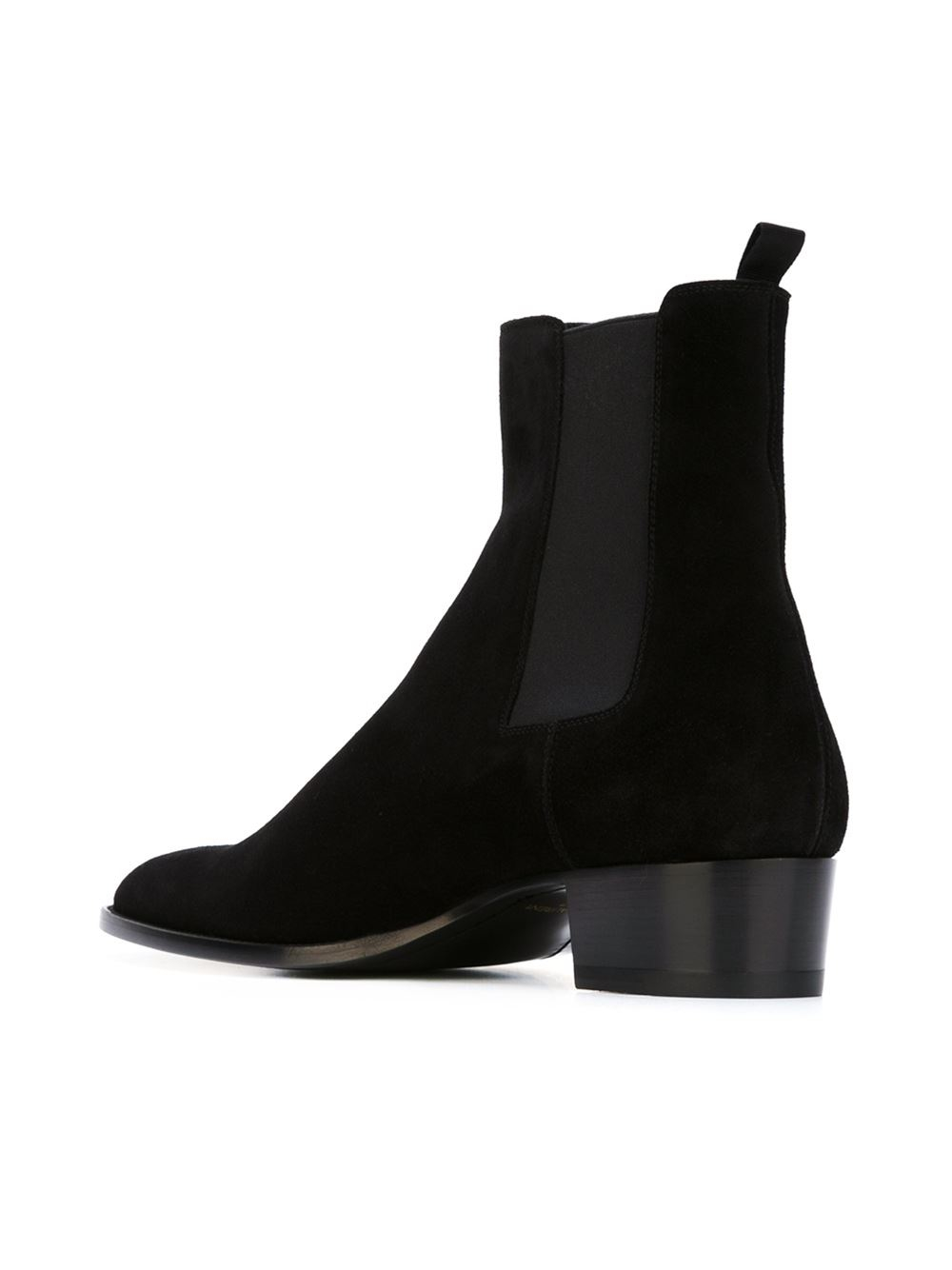 saint laurent classic chelsea boots in black for men lyst. Black Bedroom Furniture Sets. Home Design Ideas