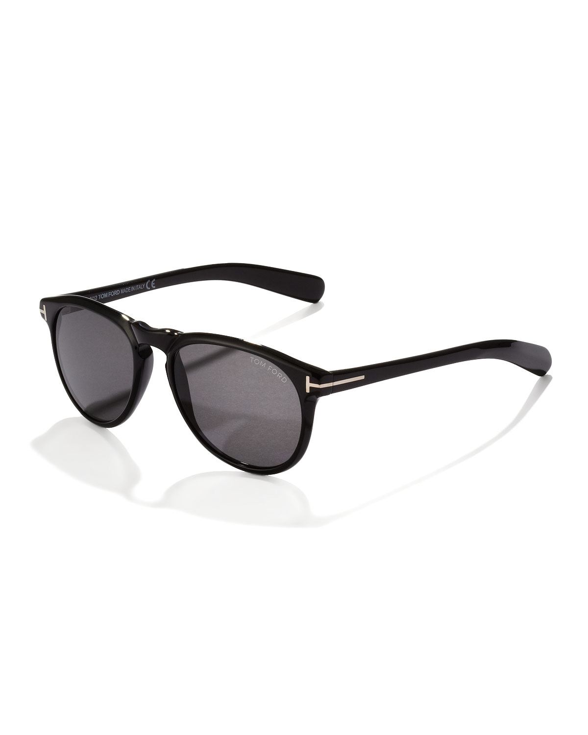 tom ford flynn sunglasses in black for men shiny black. Black Bedroom Furniture Sets. Home Design Ideas