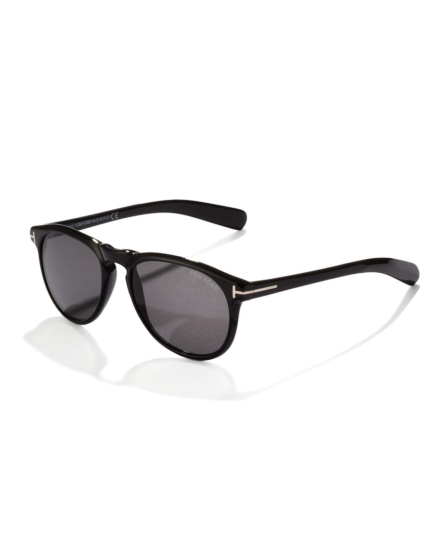 lyst tom ford flynn sunglasses in black for men. Black Bedroom Furniture Sets. Home Design Ideas