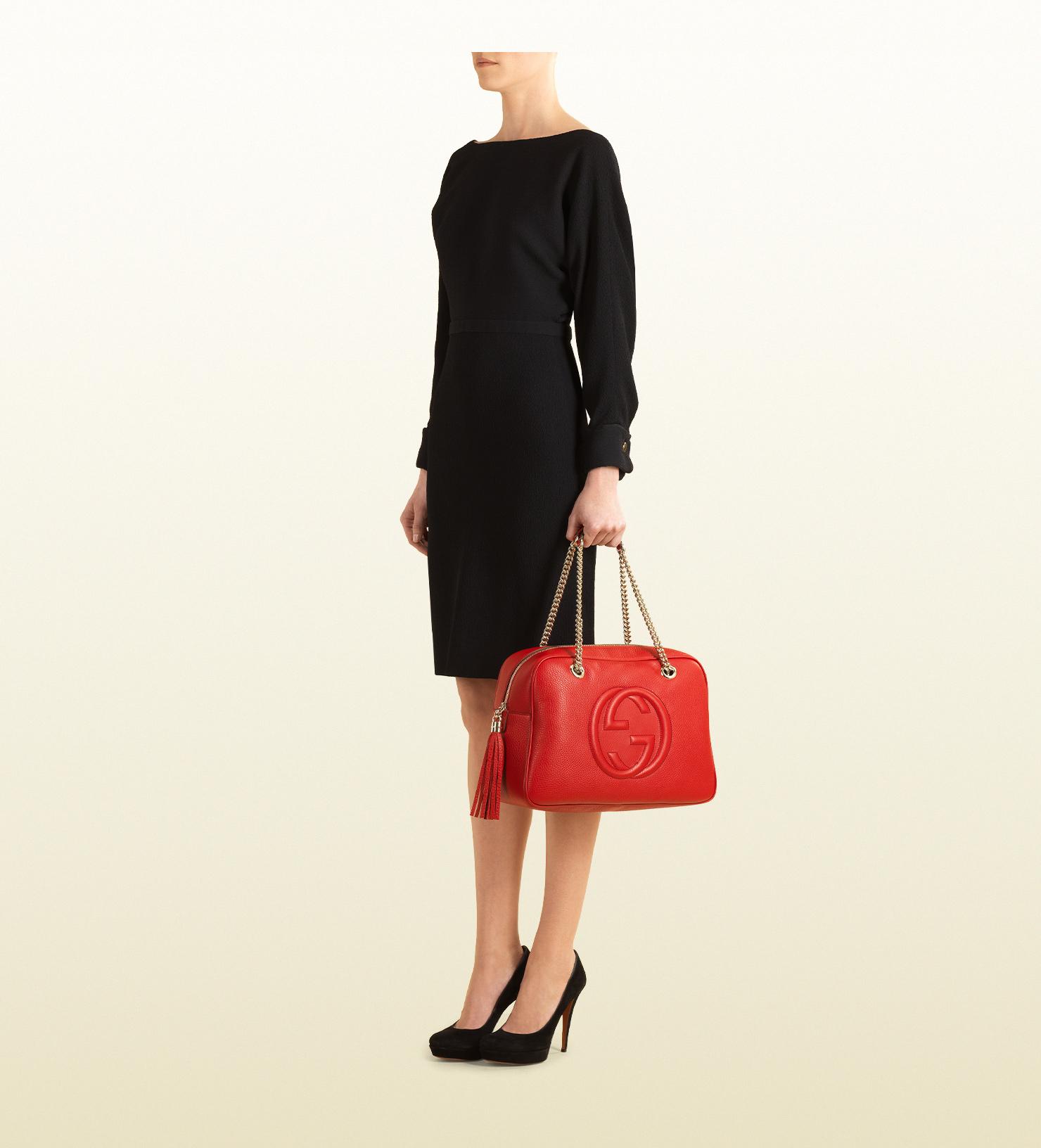 9bec0c27c09a Gucci Soho Leather Chain Shoulder Bag - Bag Photos and Wallpaper HD