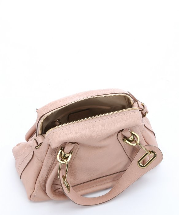 Chlo¨¦ Anemone Pink Leather Mini \u0026#39;paraty\u0026#39; Convertible Top Handle ...