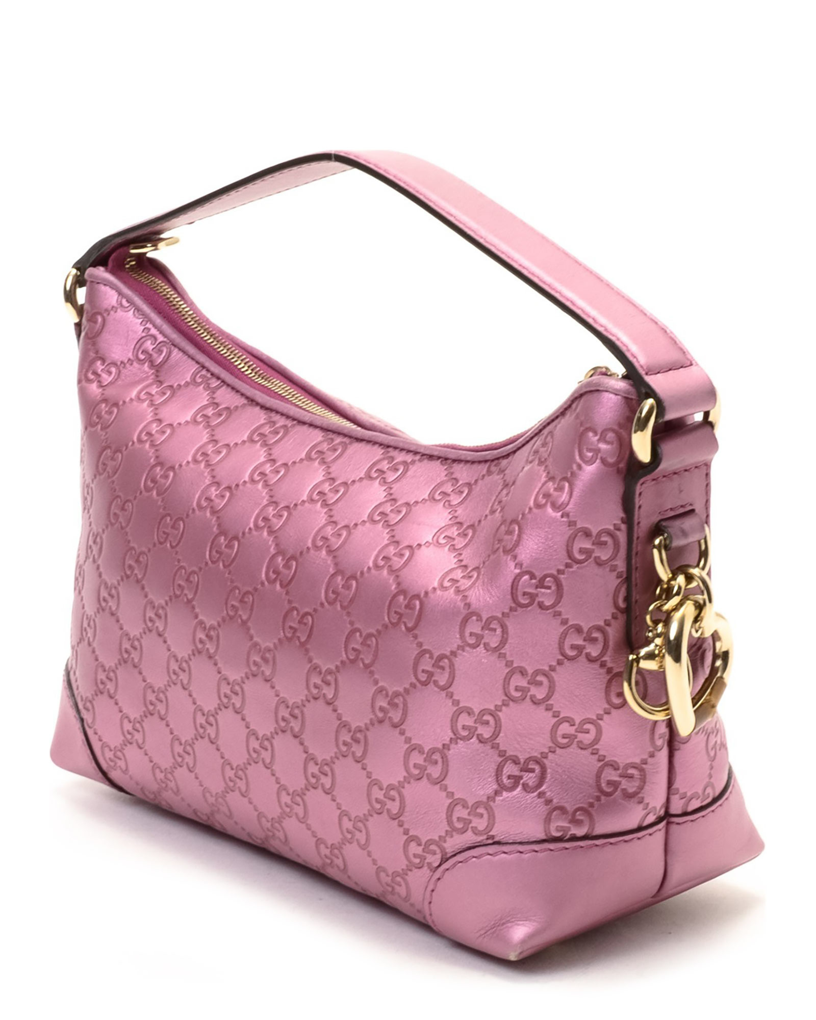 Gucci Pink Shoulder Bag - Vintage in Pink | Lyst