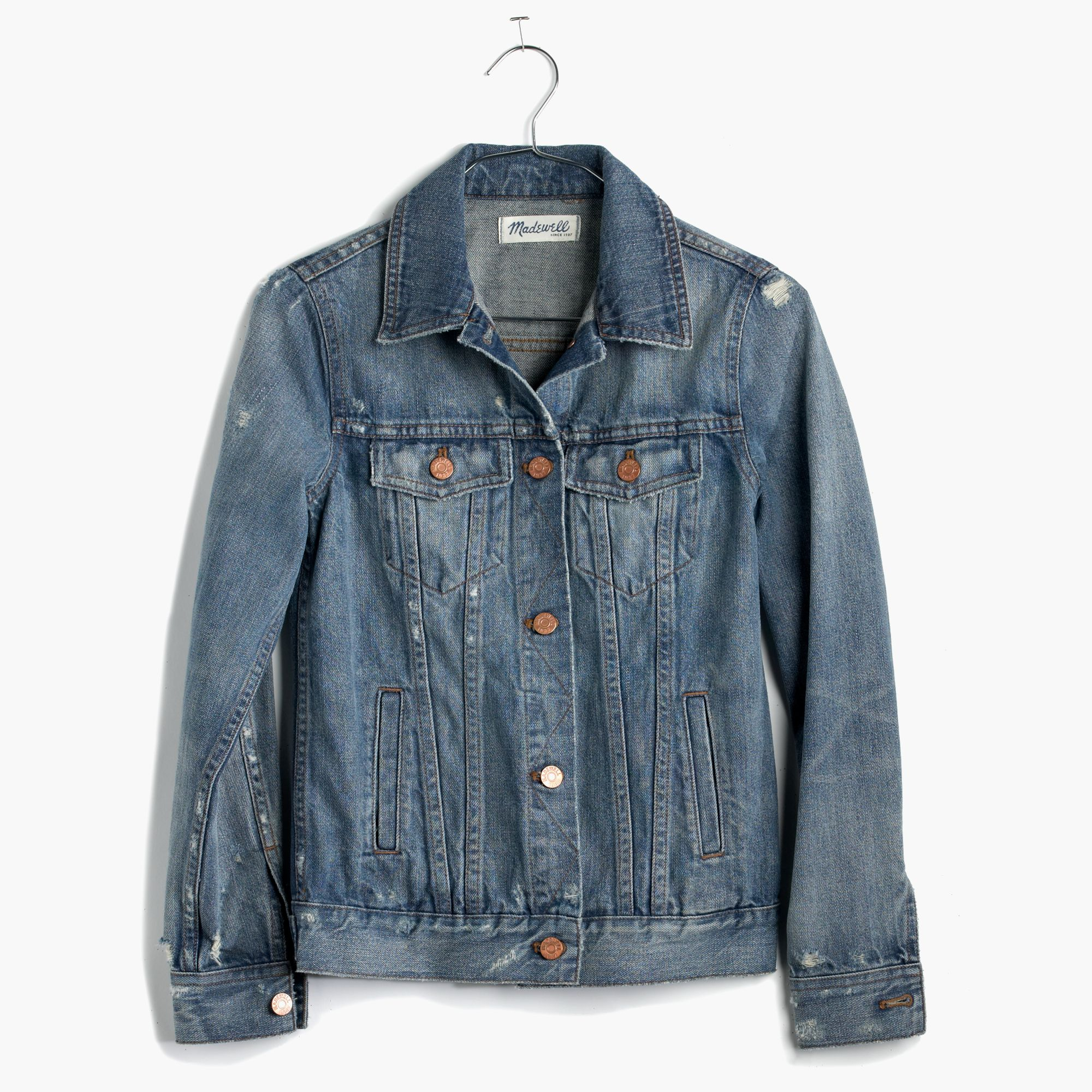 Madewell The Jean Jacket In Ellery Wash in Blue | Lyst