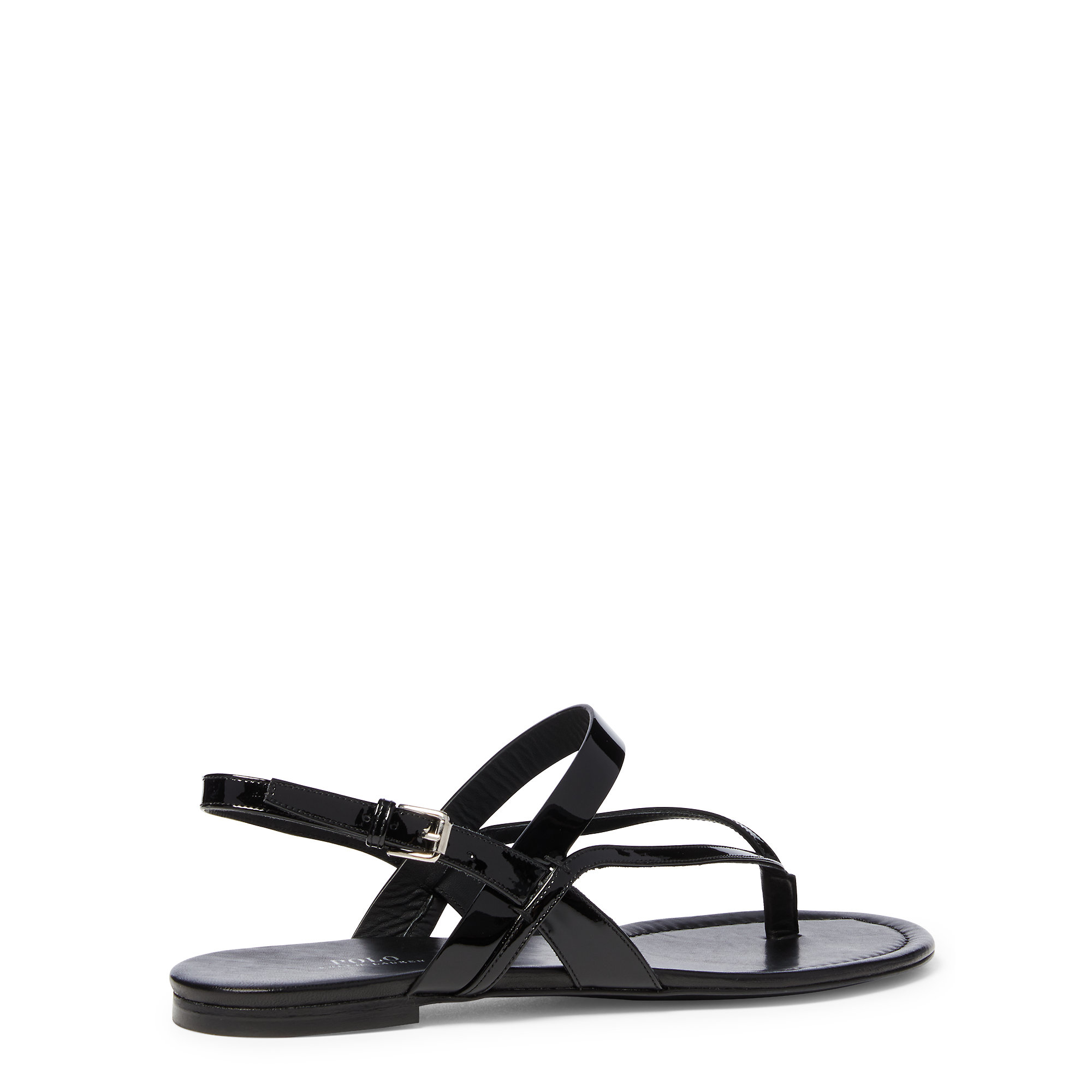view sale online purchase online Lauren Ralph Lauren Patent Leather Slide Sandals b4h0D1F8