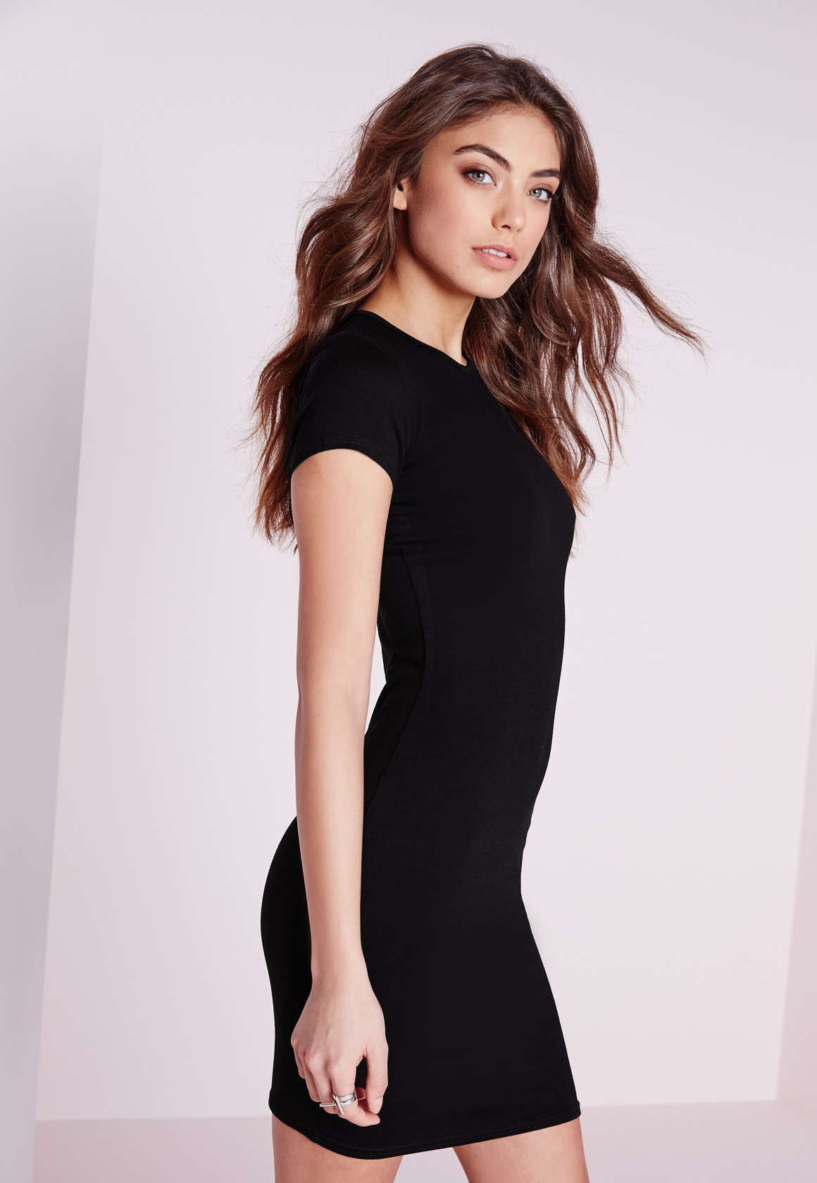 Lyst Missguided 2 Pack Jersey Short Sleeve Bodycon Dress