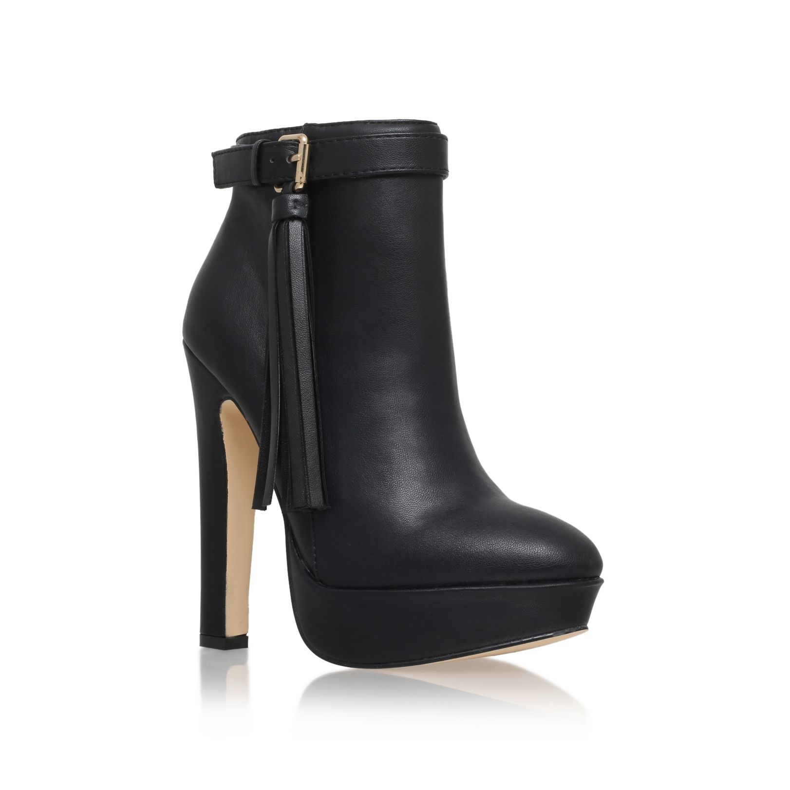lipsy high heel ankle boots in black lyst