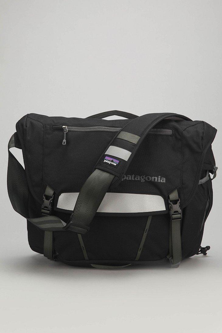 Patagonia Half Mass Messenger Backpack In Black For Men