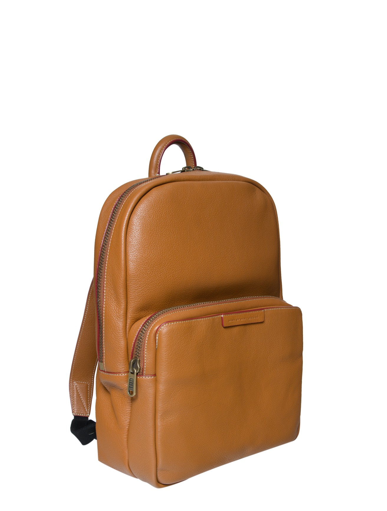 Brown leather backpack – Trend models of bags photo blog