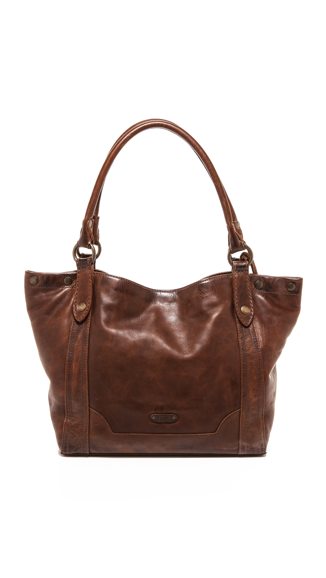 Frye Melissa Shoulder Bag - Dark Brown in Brown | Lyst