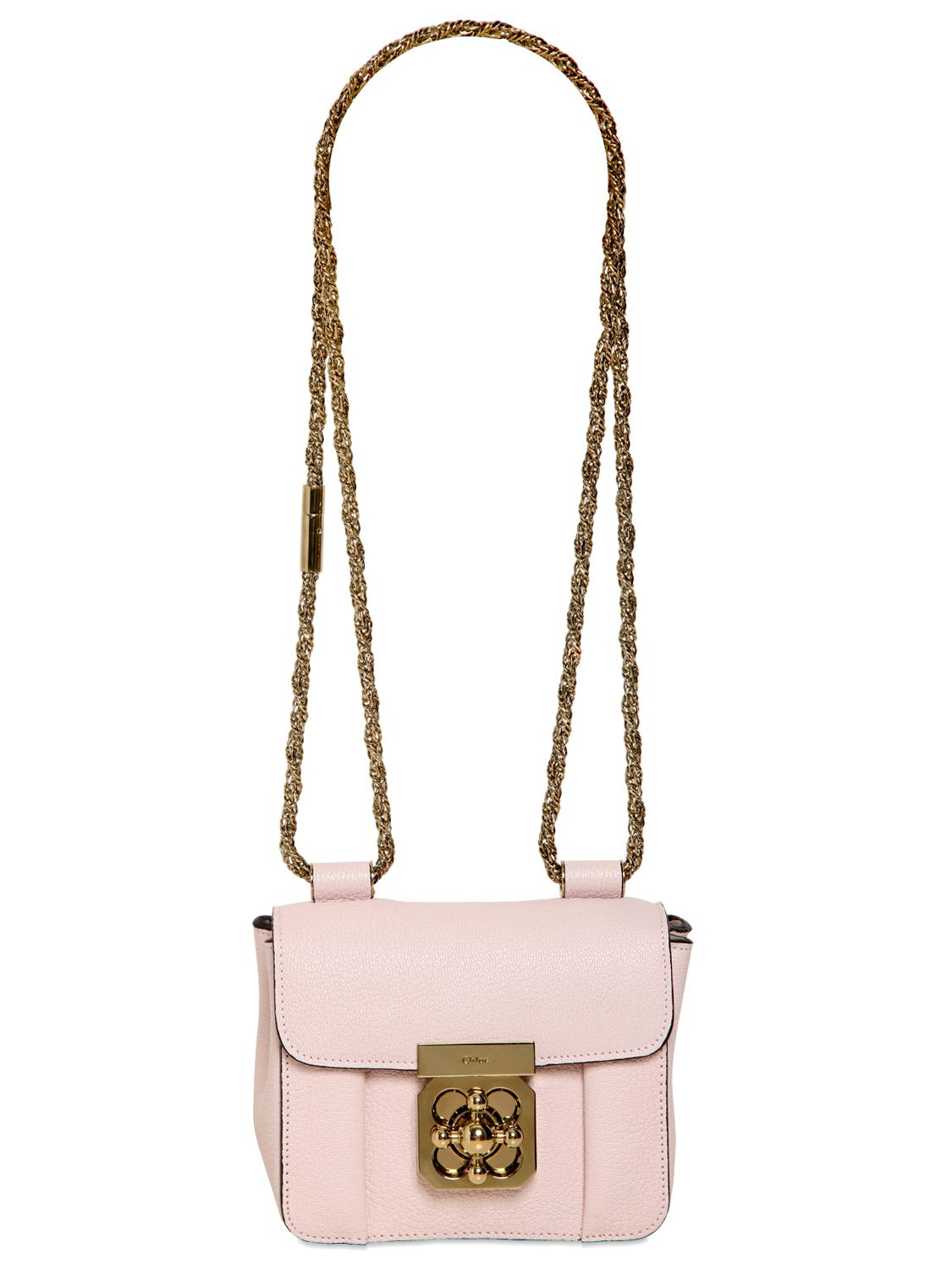 elsie mini bag in grained leather