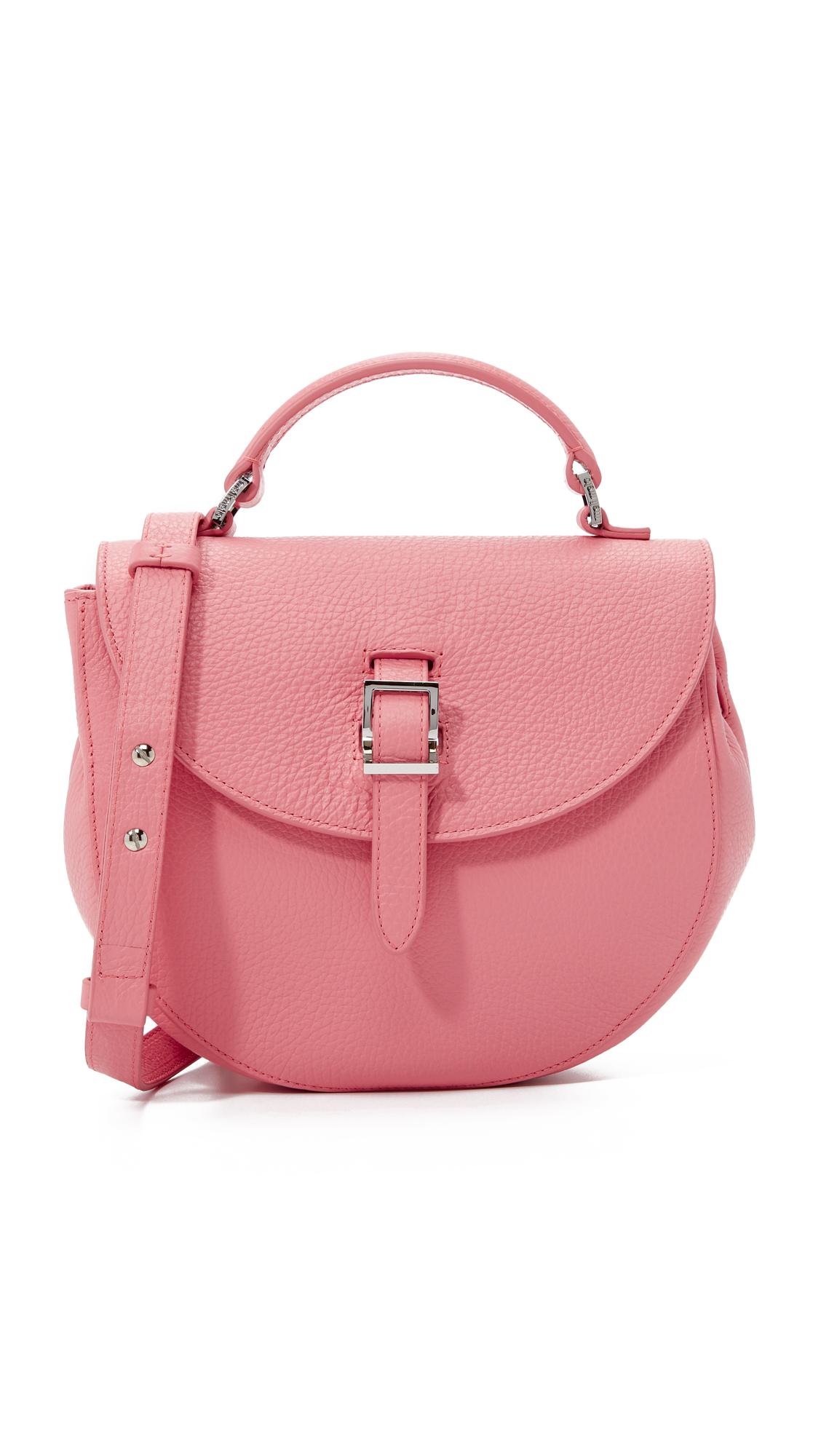 meli melo ortensia saddle bag in pink lyst. Black Bedroom Furniture Sets. Home Design Ideas
