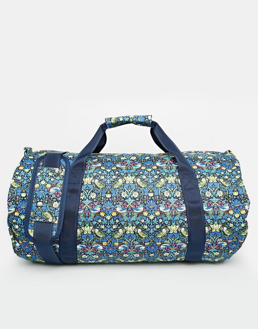 Mi-pac X Liberty Floral Print Duffle Bag | Lyst