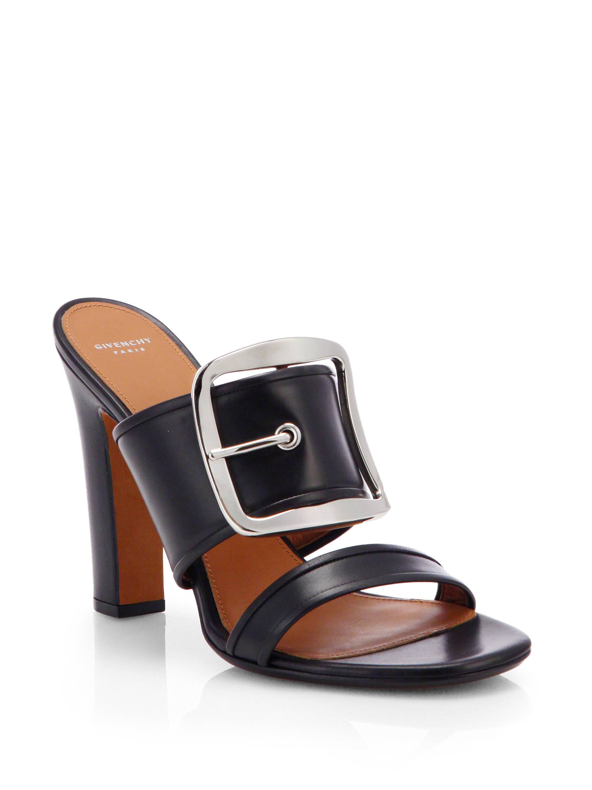 Givenchy Leather Buckle- Accent Sandals outlet Cheapest x8URdZaGlK