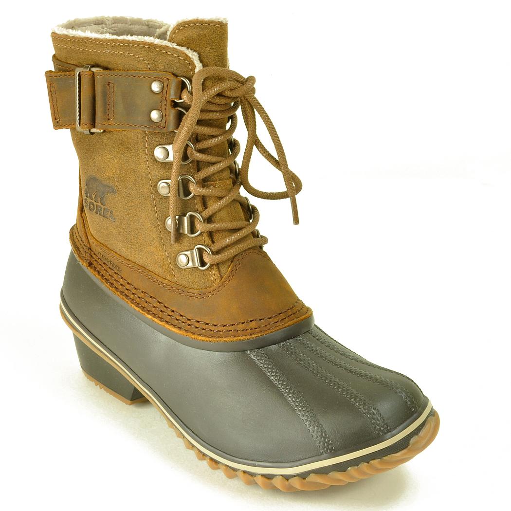 Lyst Sorel Fancy Water Resistant Boots In Green