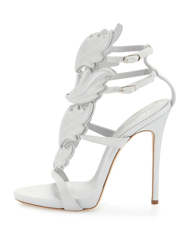 White High Heel Sandals - Is Heel