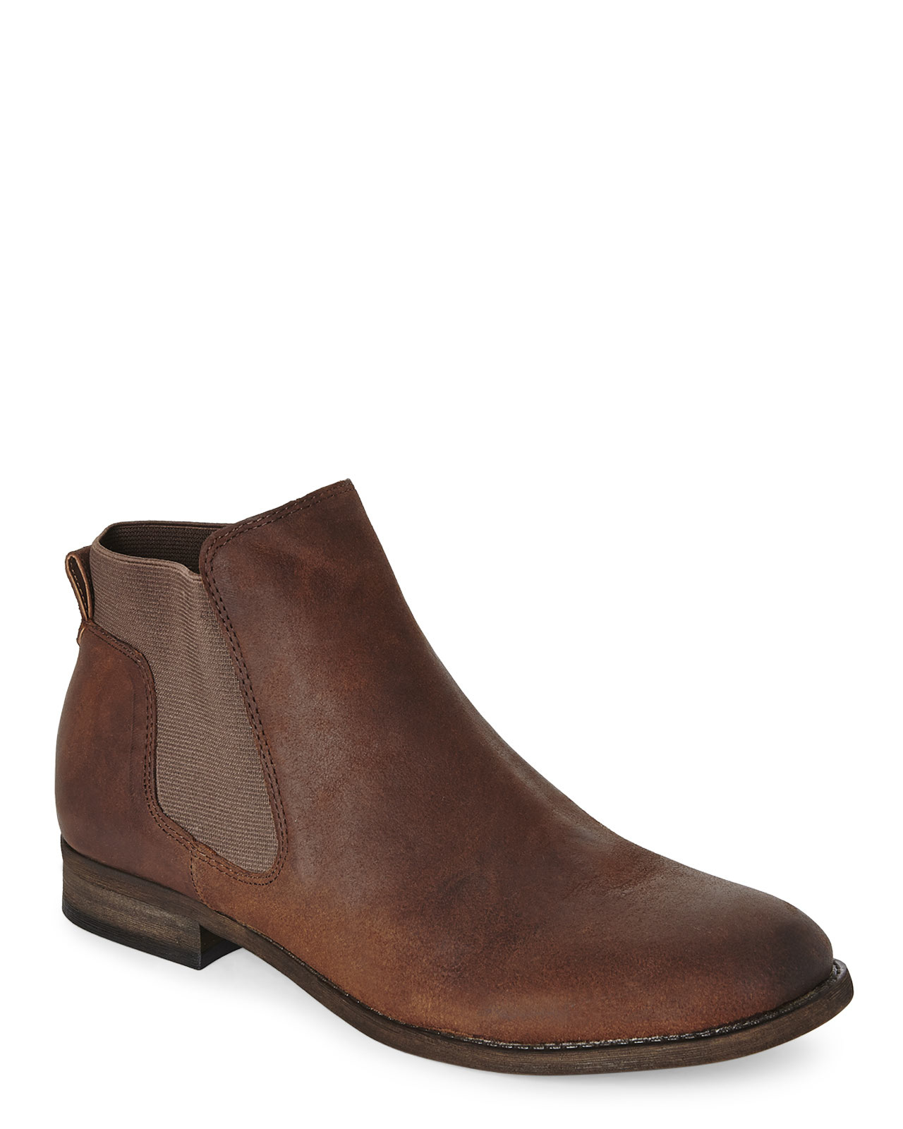 franco sarto kabrina chelsea boots in brown lyst