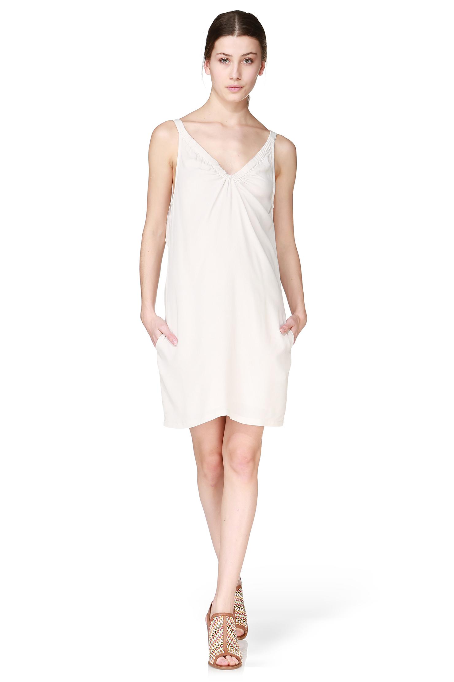 See U Soon Pencil Dress In White Lyst