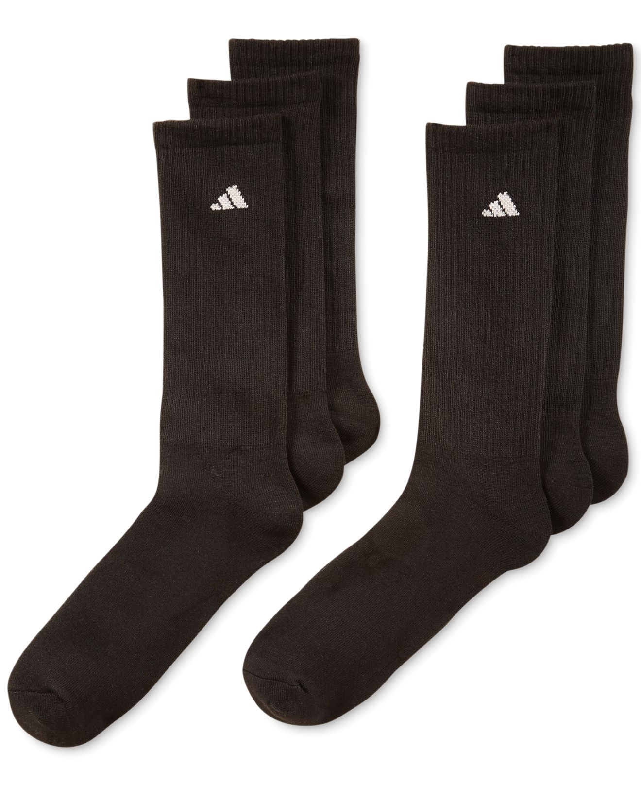 Adidas Originals Men S Athletic Performance Crew Socks 6