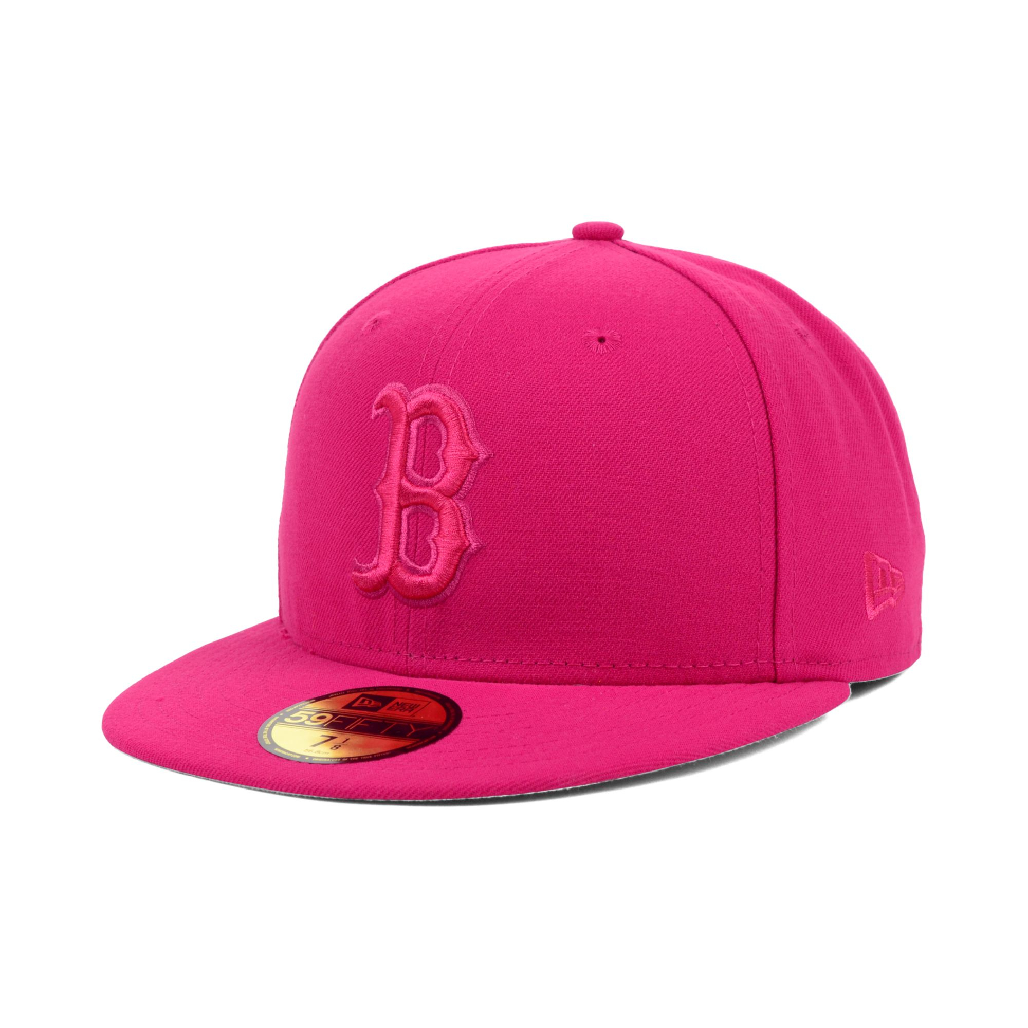 Ktz Boston Red Sox Pop Tonal 59fifty Cap In Pink Lyst