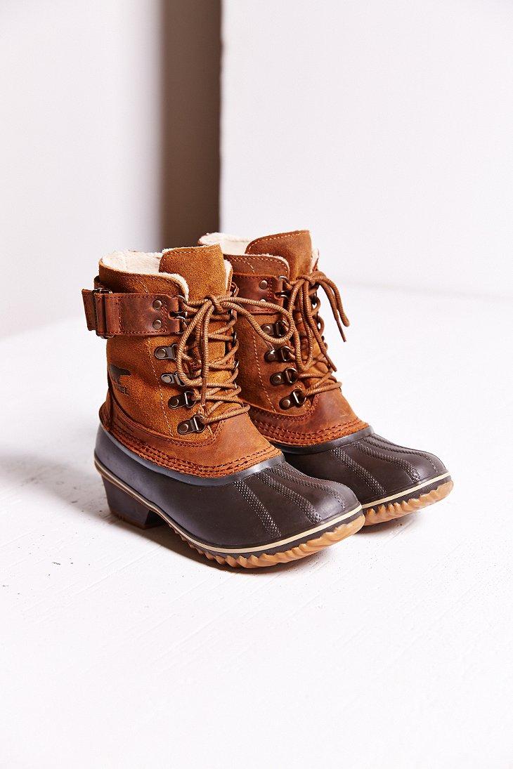 Lyst Sorel Winter Fancy Lace Up Boot In Brown