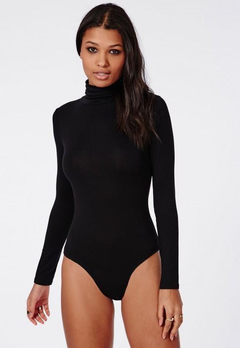 Image result for missguided black turtleneck bodysuit