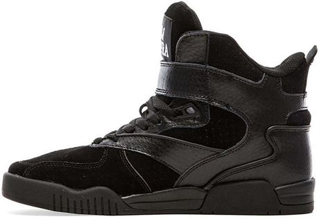 Get Mens Supra Bleeker - Shoes Supra Bleeker Black 2