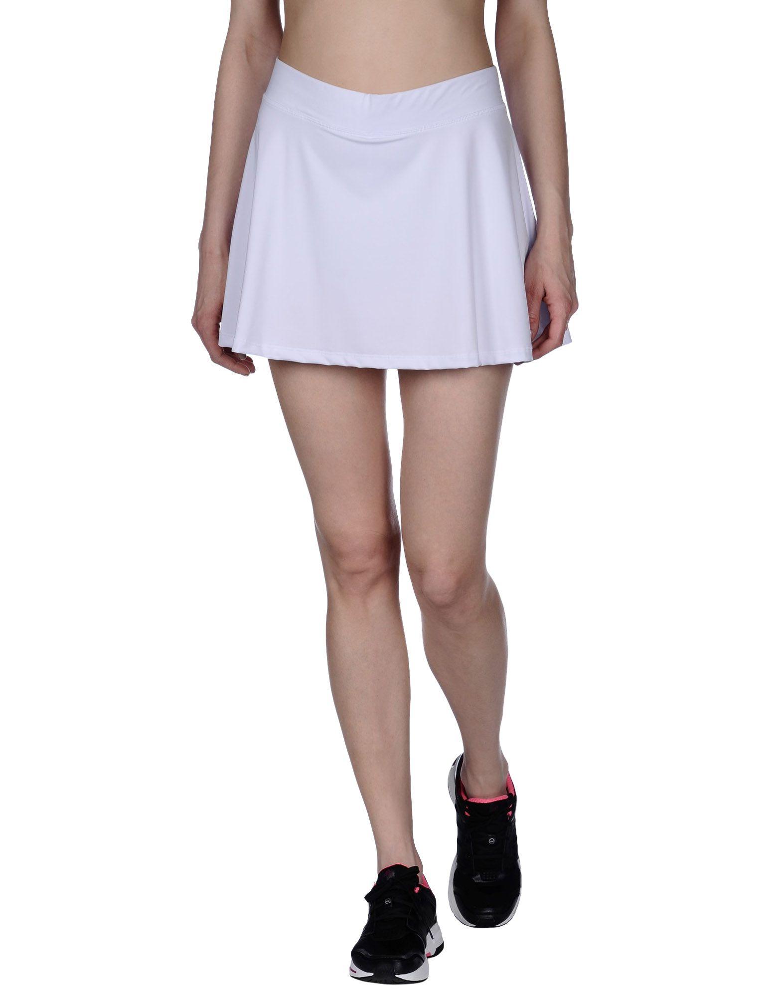 035d7079ee6 Le Coq Sportif Mini Skirt in White - Lyst