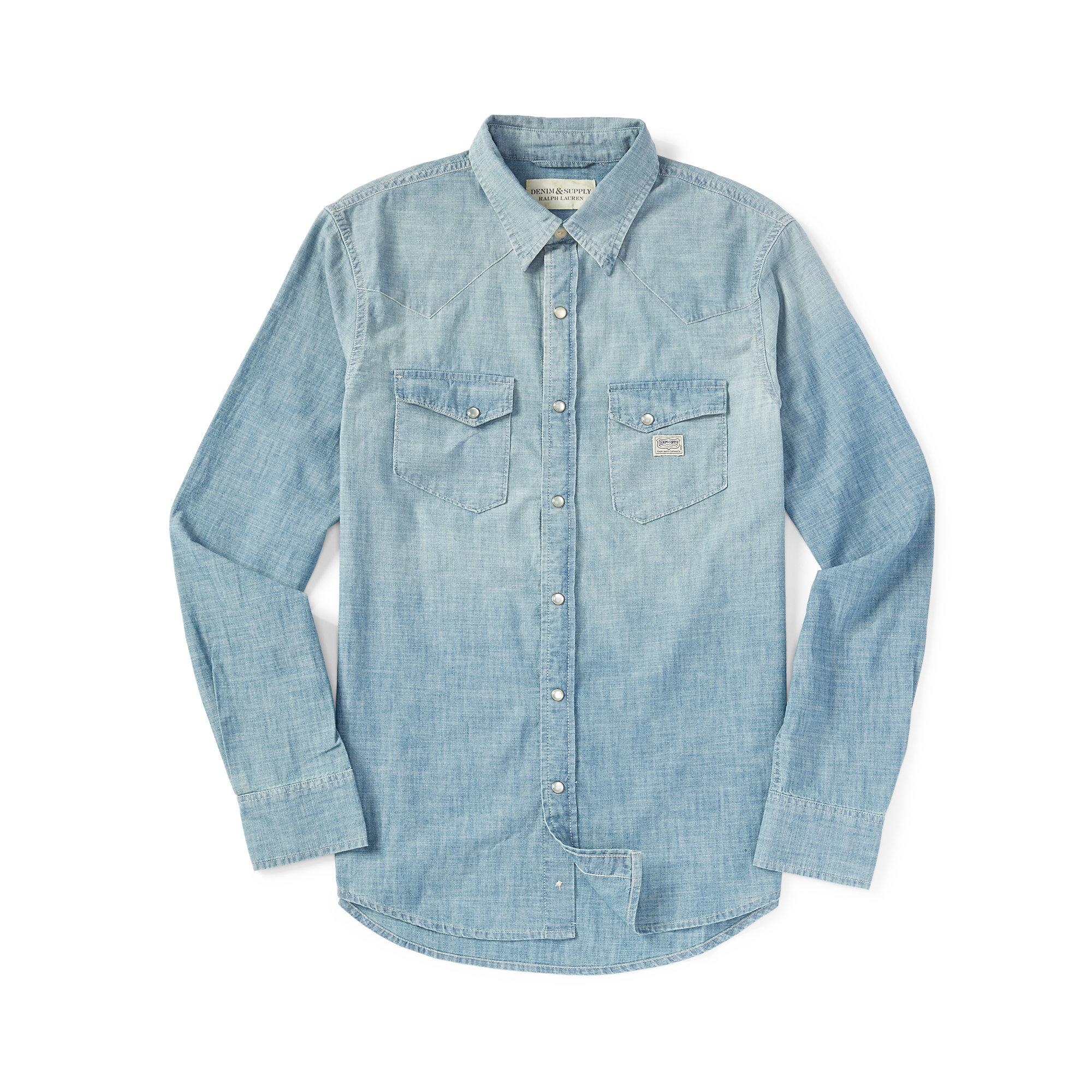 SHIRTS - Shirts Denim & Supply Buy Cheap Genuine Wil3GqT