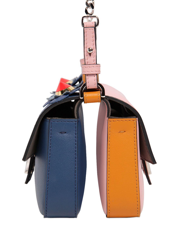 micro Baguette crossbody bag - Brown Fendi 9T8T64PG