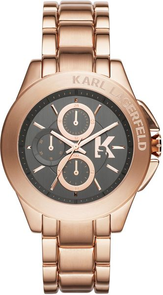 karl lagerfeld kl1410 energy gold bracelet in
