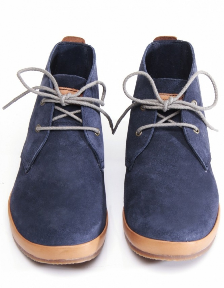 timberland woodcliffe suede boots in blue for lyst