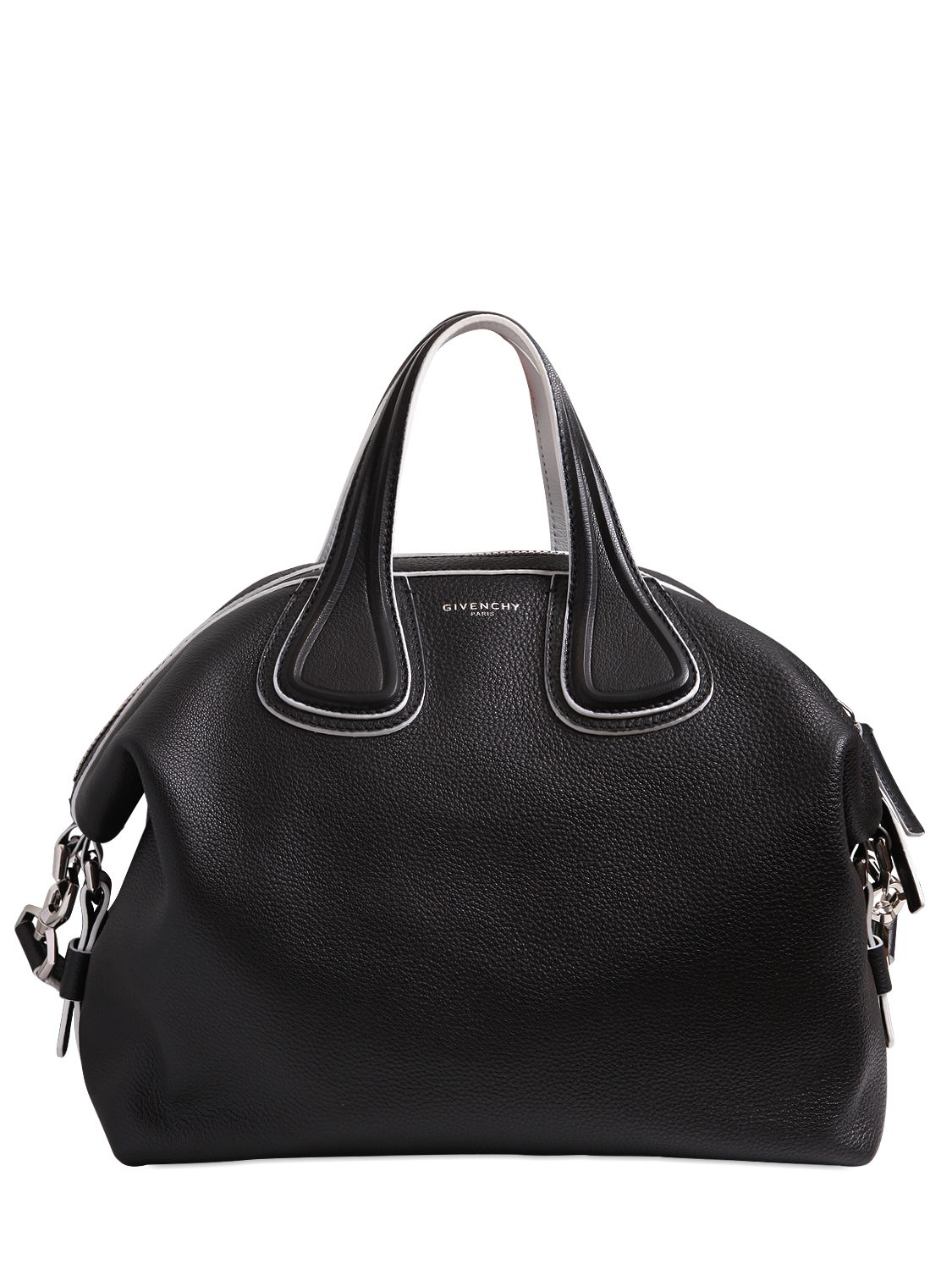 6167f2763783 Givenchy Bags. Givenchy Medium Nightingale Bag W  White Details in Black  (BLACK .