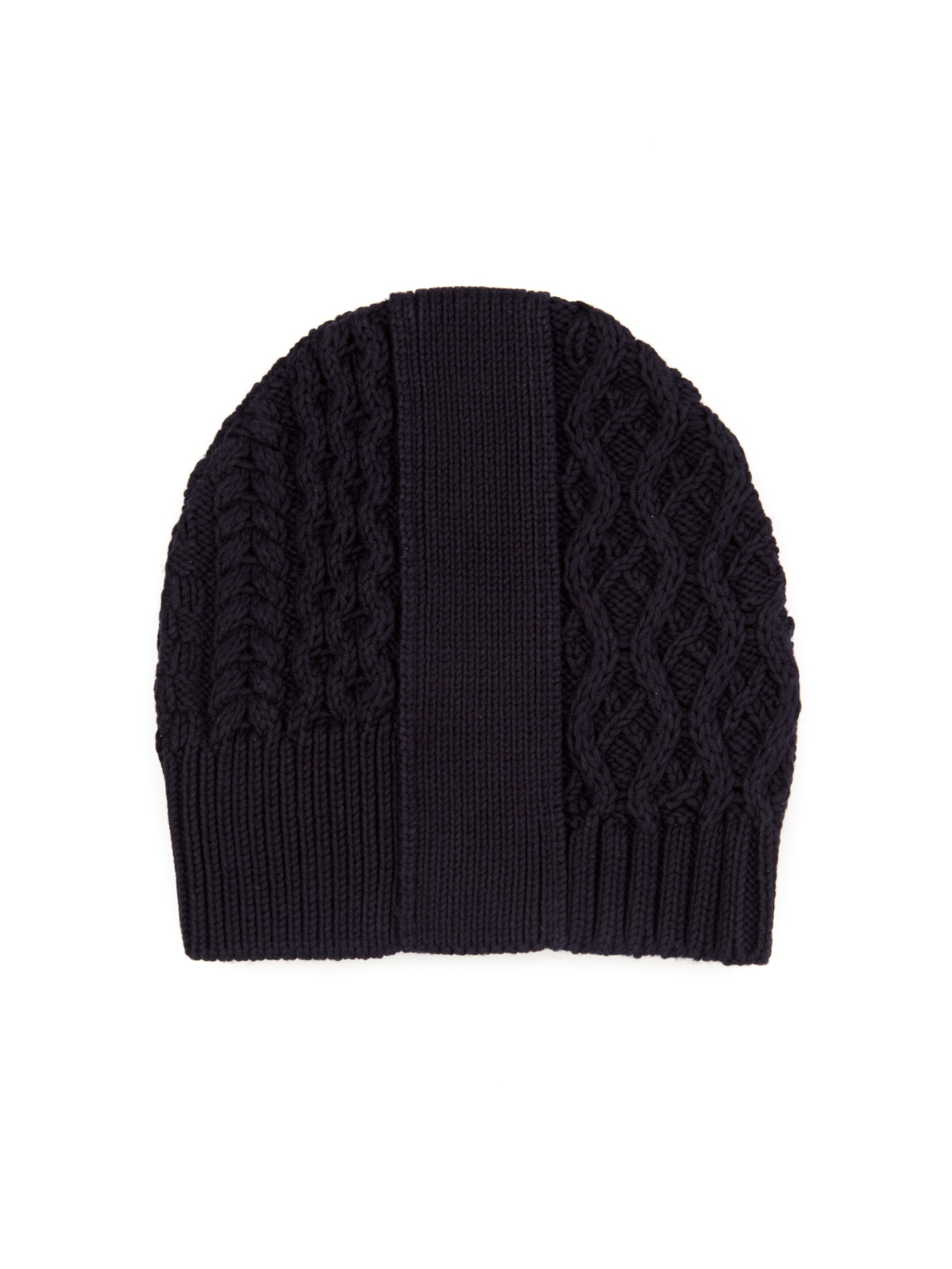 cc63d7c3daa Lyst - Maison Margiela Knitted Beanie Hat in Blue for Men