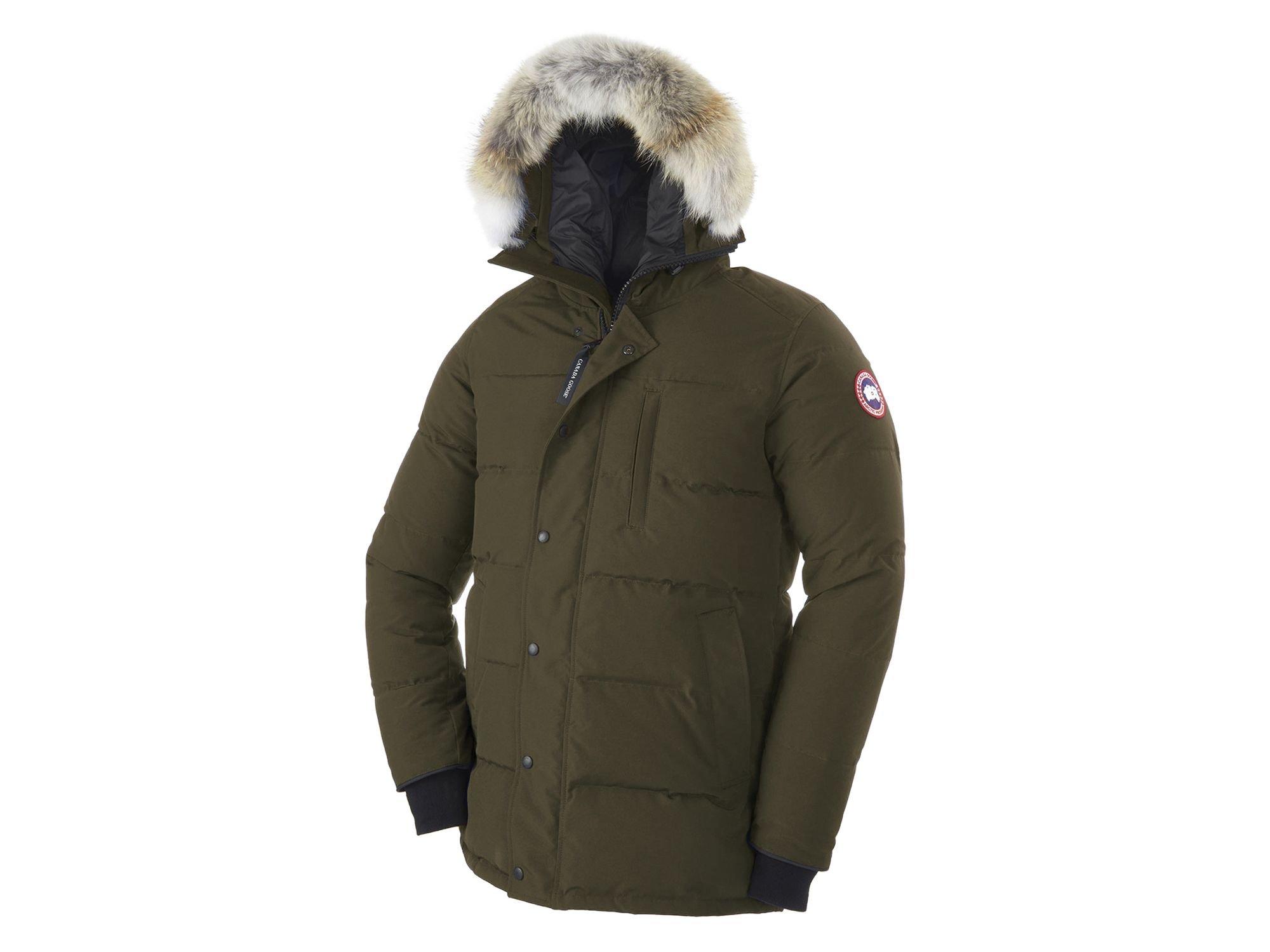 Canada Goose' Carson Down Parka - Military Green
