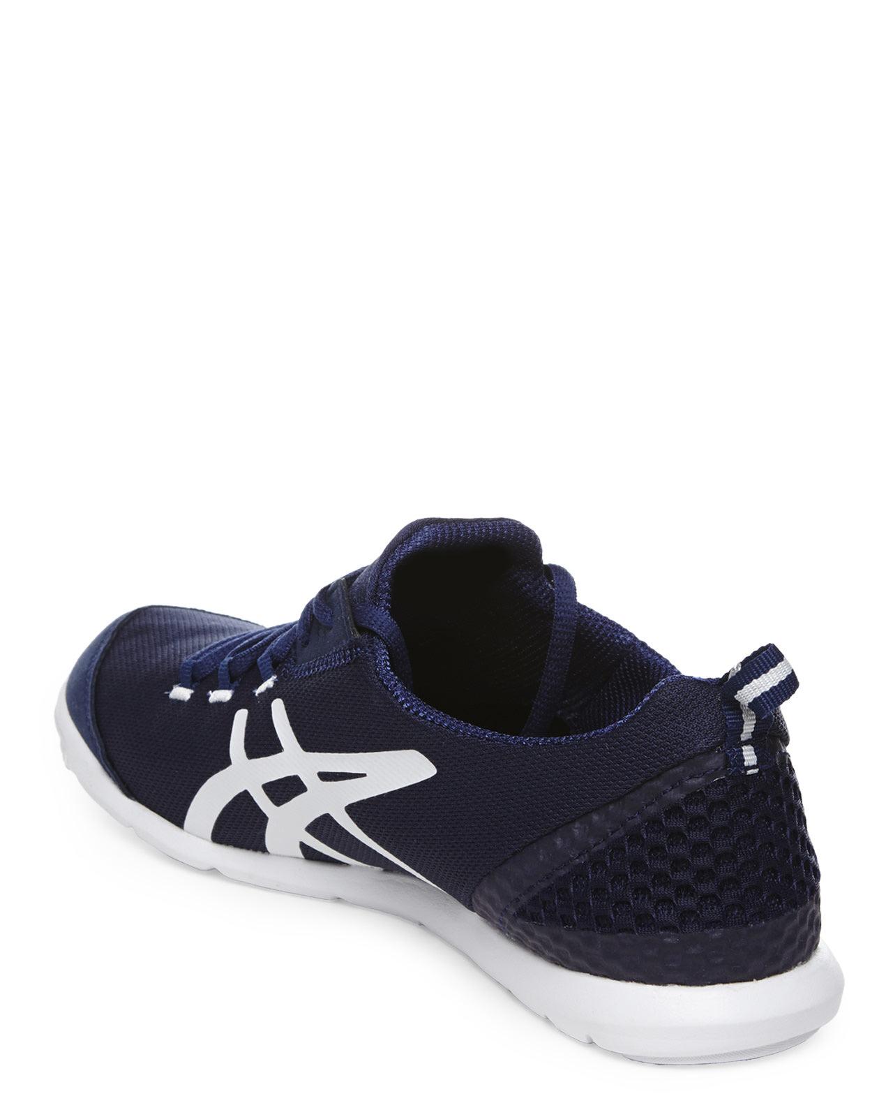 9cb17954dadb Lyst - Asics Navy   White Metrolyte Sneakers in Blue