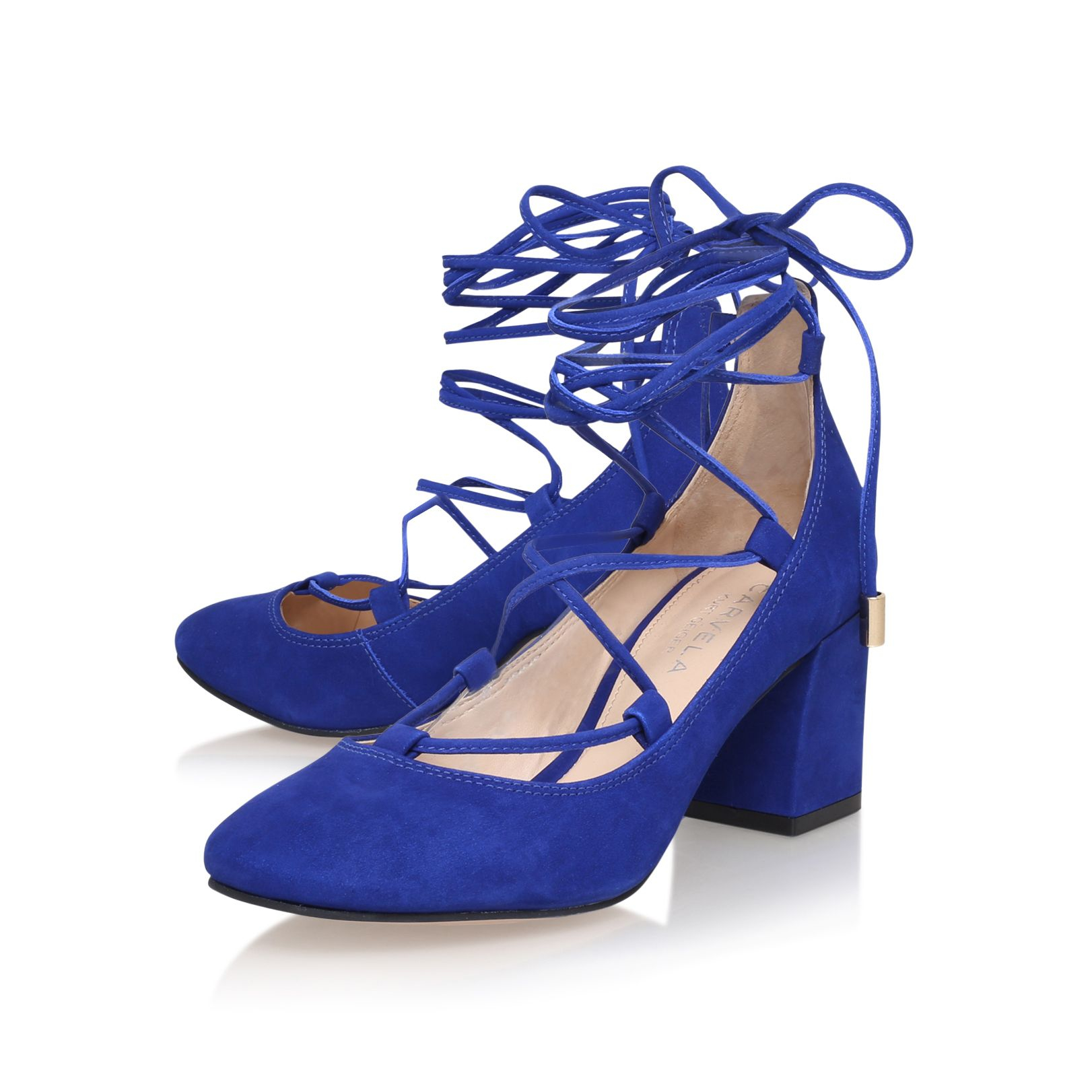 Faith Blue Court Shoes