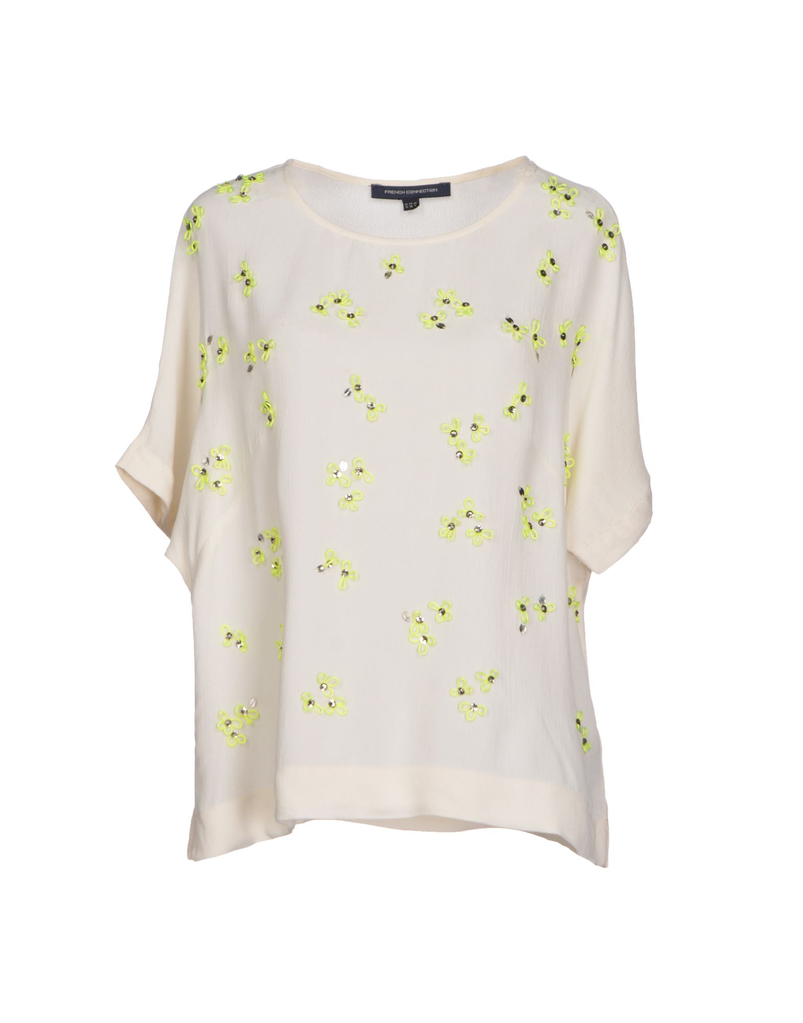Womens French White Blouse 17
