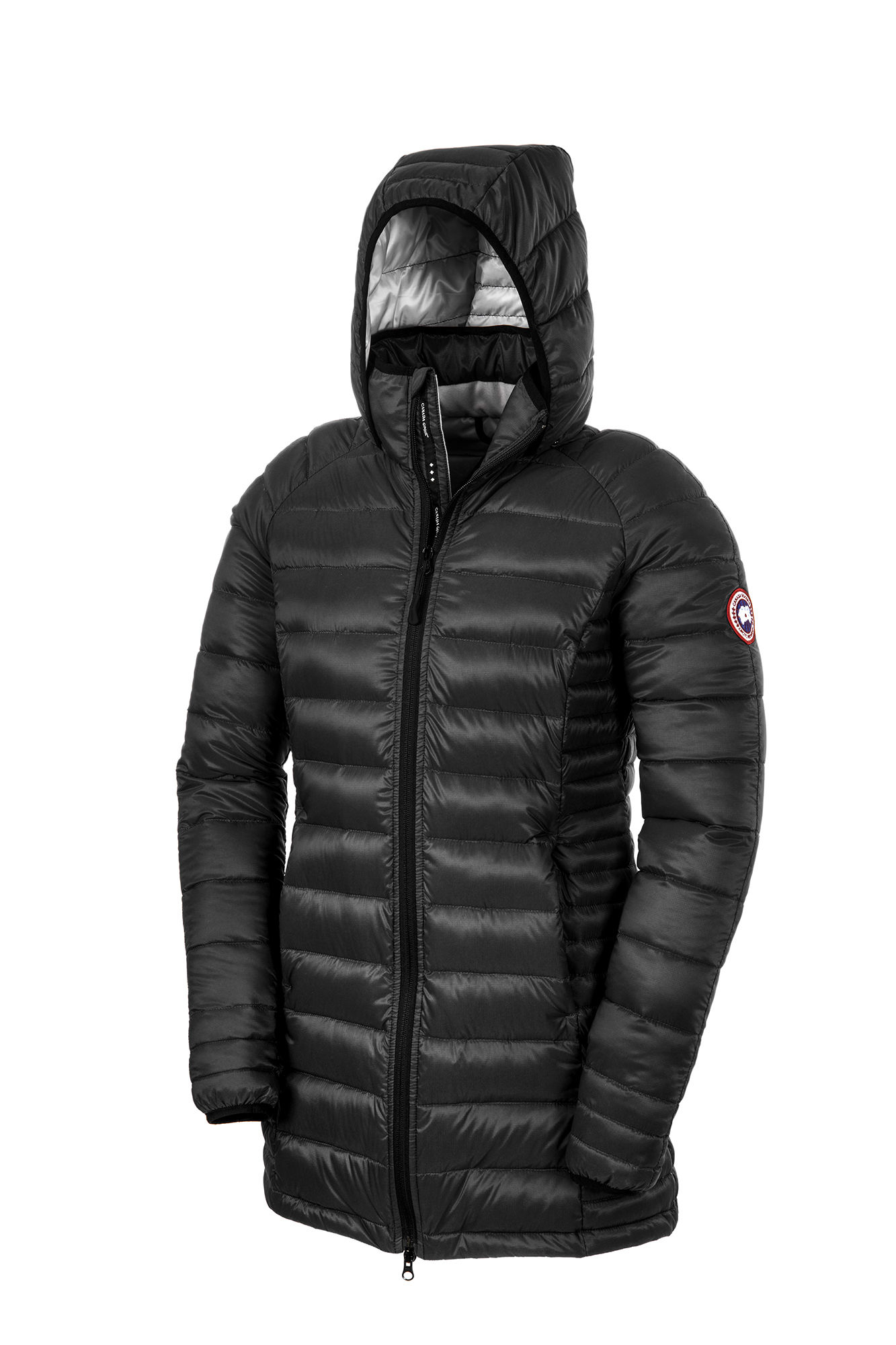 Canada Goose toronto sale 2016 - Canada goose Brookvale Hooded Coat in Black | Lyst